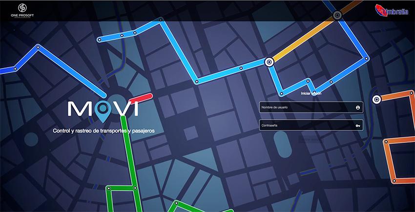 MOVI: Sistema de control y rastreo de Transportes y Pasajeros