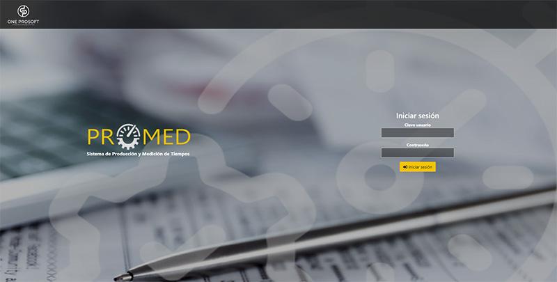 PROMED: Sistema de Control de Tiempos y Pre-Nomina