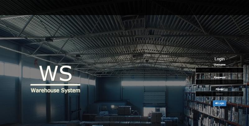 WS: Sistema de Bodega (Warehouse System)